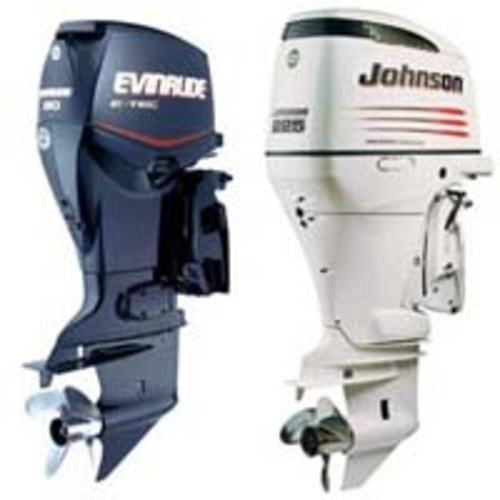 Product picture JOHNSON EVINRUDE 4 DELUXE OUTBOARD 1991-1994 SERVICE MANUAL